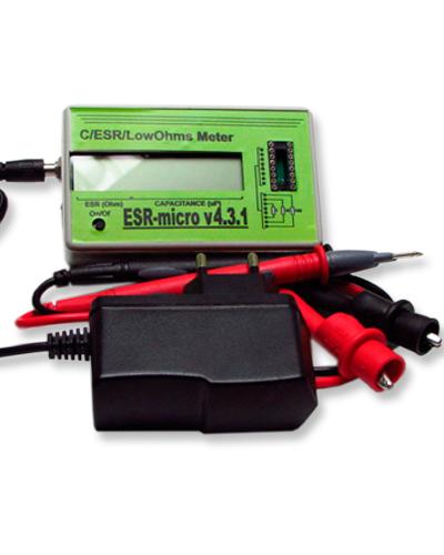 ESR-micro v4.3.1 (+питание от сети)